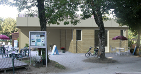Extension accueil camping - Insertion dans le site